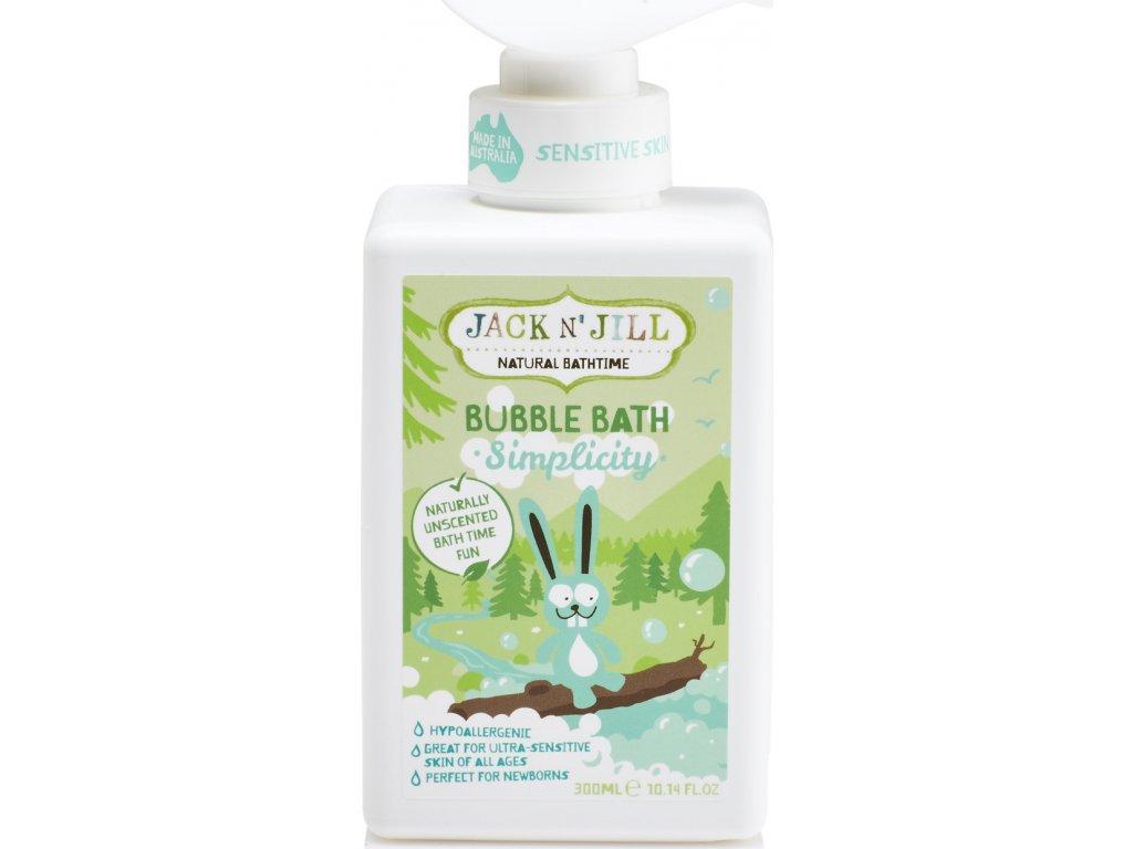 Jack N´ Jill NATURAL BATHTIME Simplicity Pěna do koupele