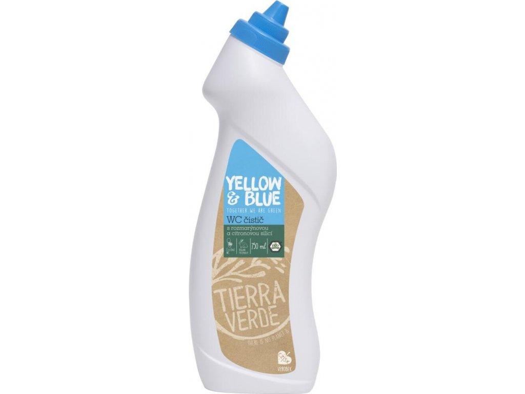 WC čistič rozmarýn a citron (lahev 750 ml)