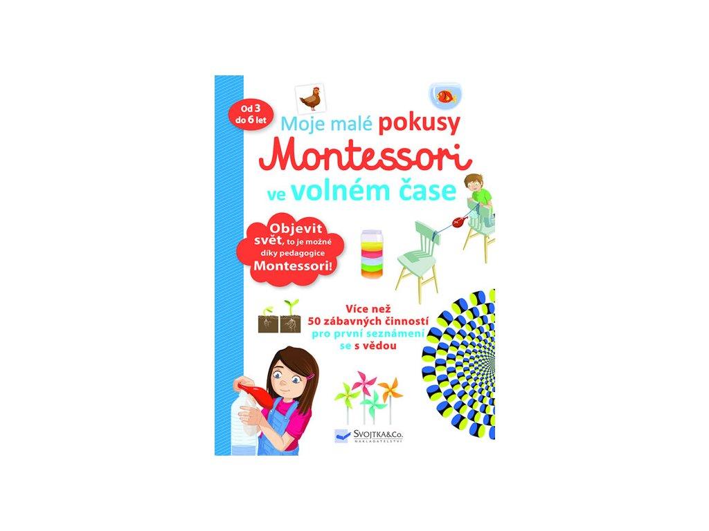 Moje malé pokusy Montessori ve volném čase Svojtka&Co.