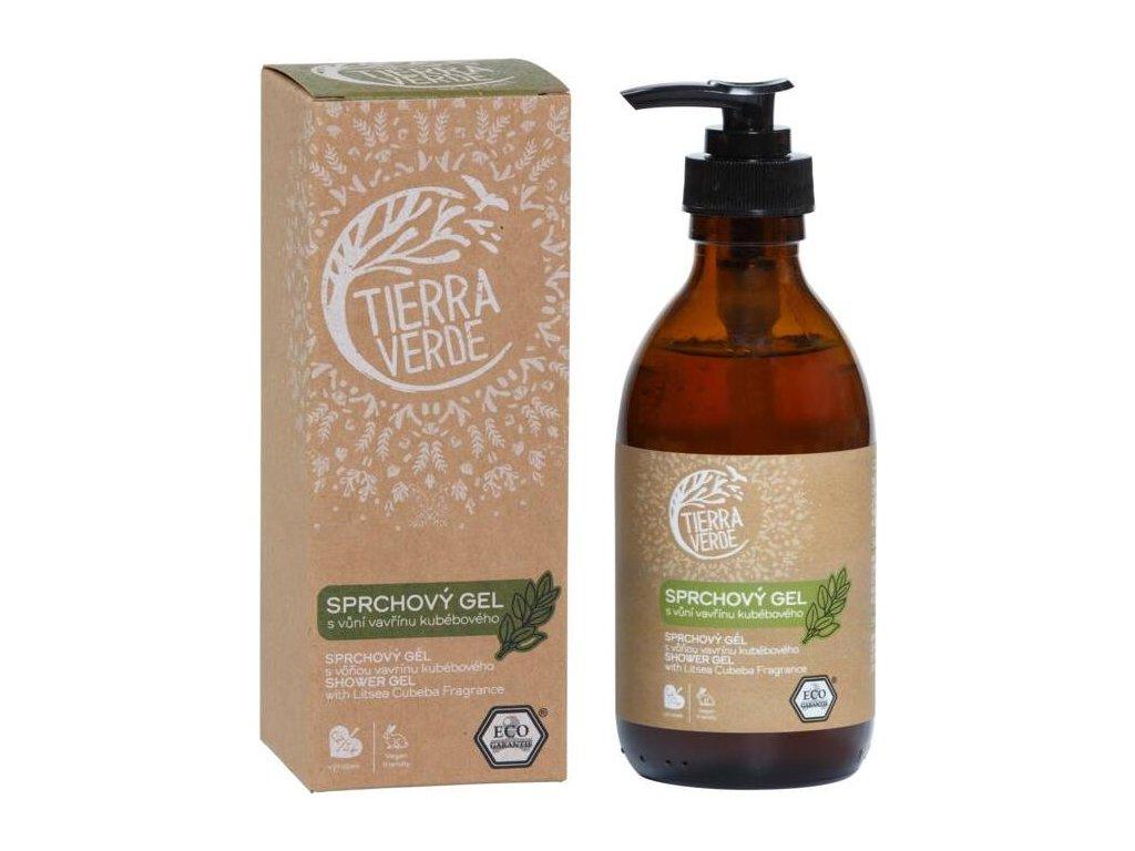Sprchový gel svůní vavřínu kubébového (lahvička 230 ml)
