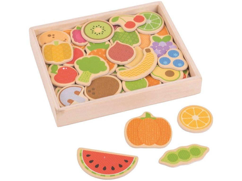 Magnetky ovoce a zelenina