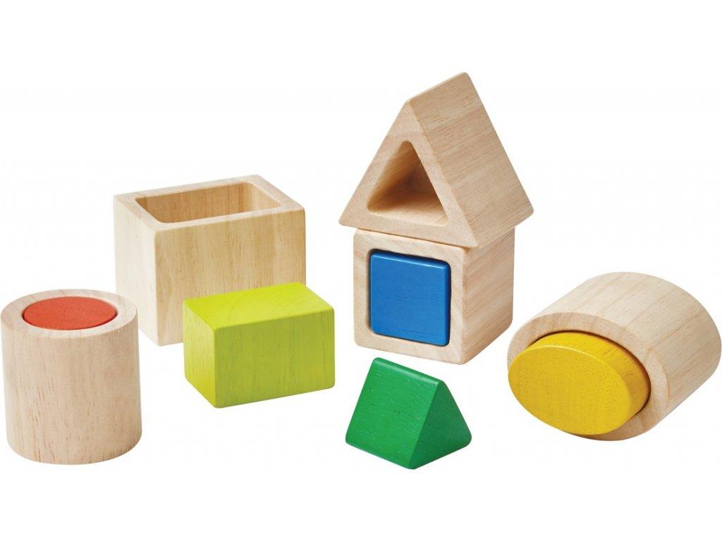 Geometrická vkládačka Plan Toys