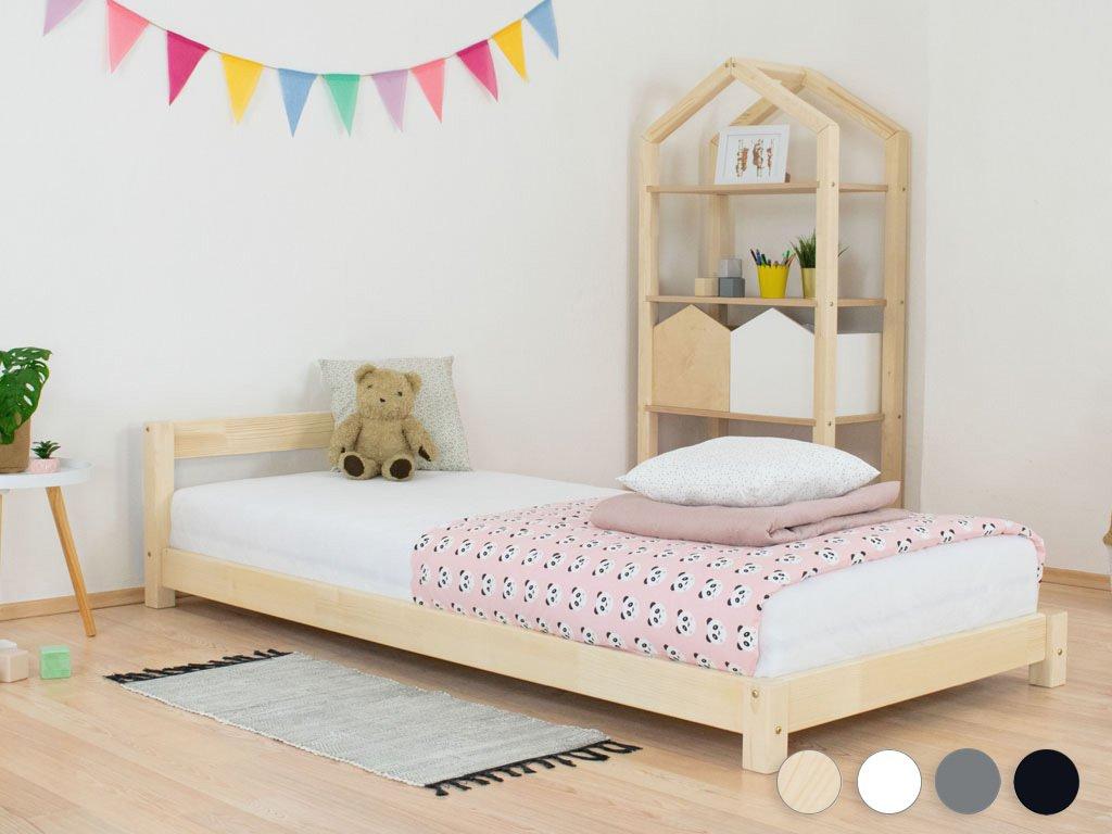 Dětská jednolůžková postel s čelem DREAMY