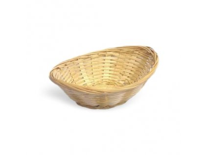 Košík bambus ovál 18x13,5cm 1