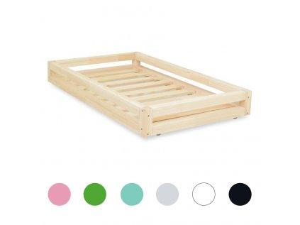 postel nizka montessori suplik 3v1