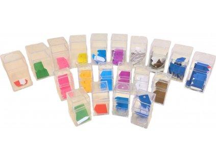 Šipky k perlovému materiálu (krátké i dlouhé řetězy)