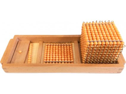 Úvodní podnos k perlovému materiálu