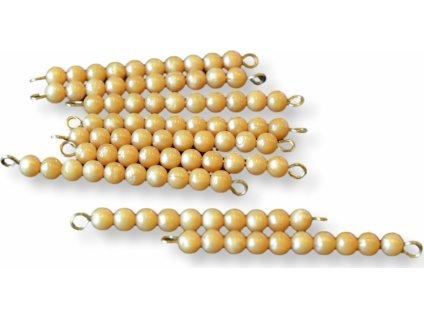 """9 zlatých perlových """"desítek"""
