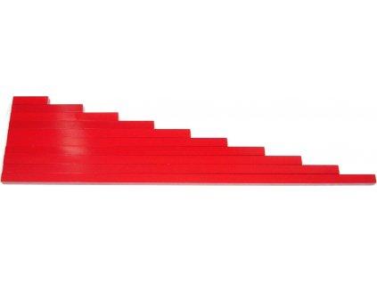 Červené tyče