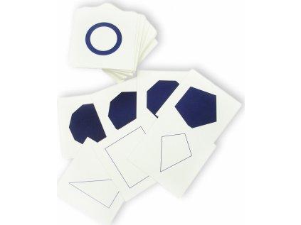 Karty ke geometrické komodě