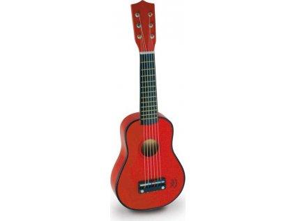 Kytara červená