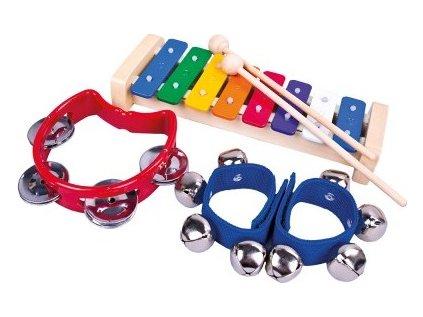 Set 3 hudebních nástrojů