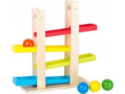 Dřevěná kuličková dráha Compact