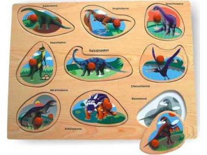 Vkládačka Dinosauři A