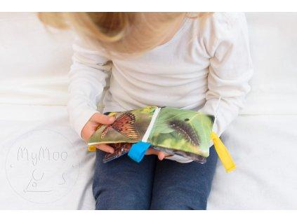 montessori mini soft book zvirata