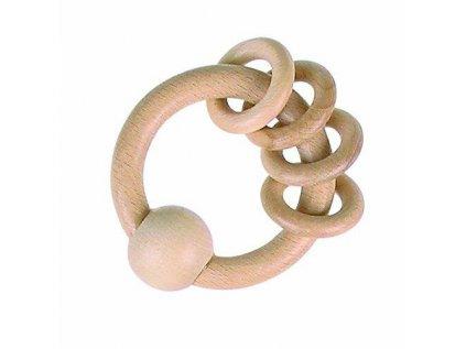 krouzek dreveny