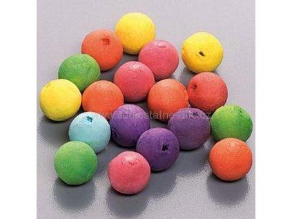 Vatové koule barevné 40ks 1,5cm