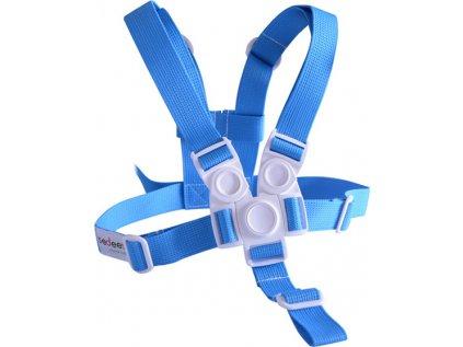 Kšíry (bezpečnostní popruhy) modré