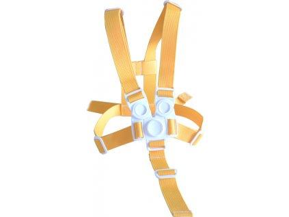 Kšíry (bezpečnostní popruhy) žluté