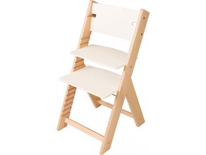 Rostoucí židle Sedees Line - bílá