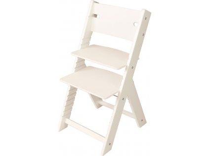 Rostoucí židle Sedees Line bílá – bílá