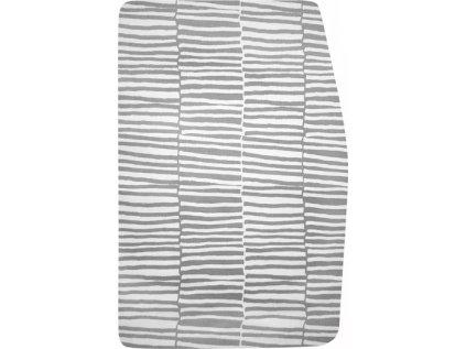 Podsedák šedo-bílé pruhy