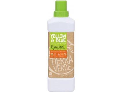 Prací gel pomeranč (lahev 1 l)