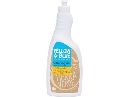 Citronový gel na vodní kámen (lahev 750 ml)