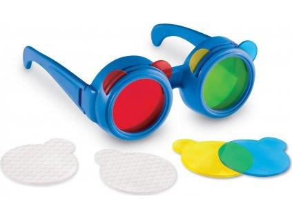 Brýle na míchání barev