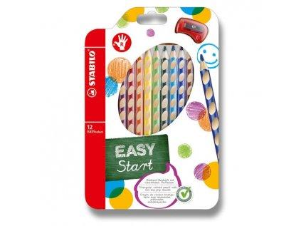 Pastelky Stabilo EASYcolors 12 barev, pro praváky