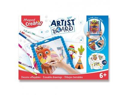 Sada Maped Creativ Artist Board Transparentní tabule na kreslení 5