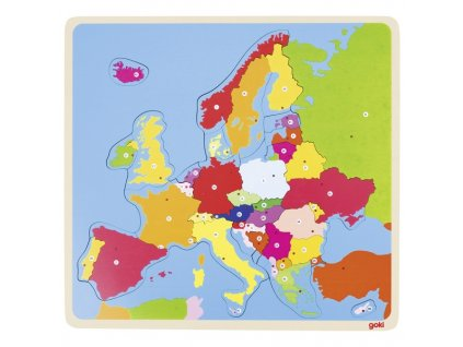 G57509 Puzzle mapa Evropy