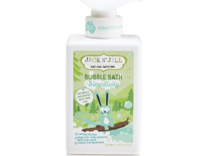 Jack N´ Jill NATURAL BATHTIME Simplicity Pěna do koupele
