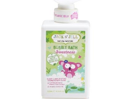 Jack N´ Jill NATURAL BATHTIME Sweetness Pěna do koupele