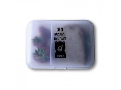 domky delena krabicka medvidek