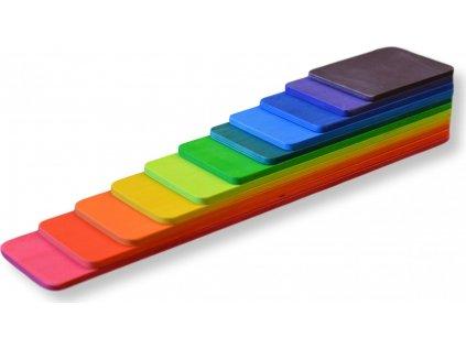 Barevné schody