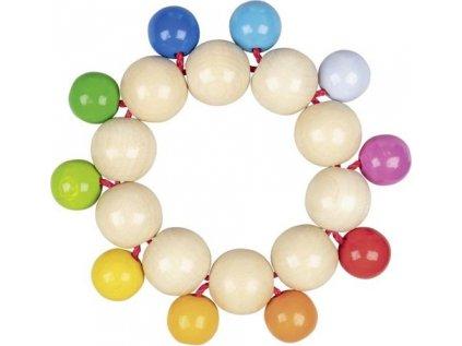 Duhové perličky – hračka do ruky