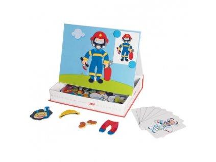 58741 magneticka oblekaci hra kluk