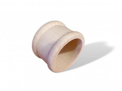 krouzek na ubrousky dreveny