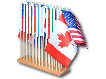 Vlajky Severní Ameriky