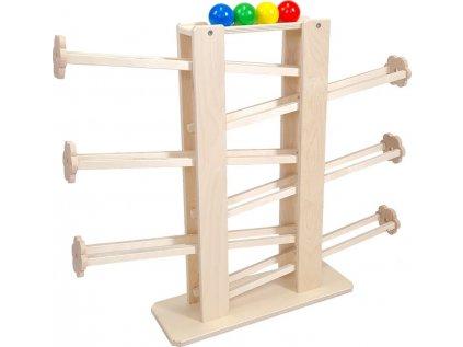 Kuličková dráha 65cm se 4 kuličkami