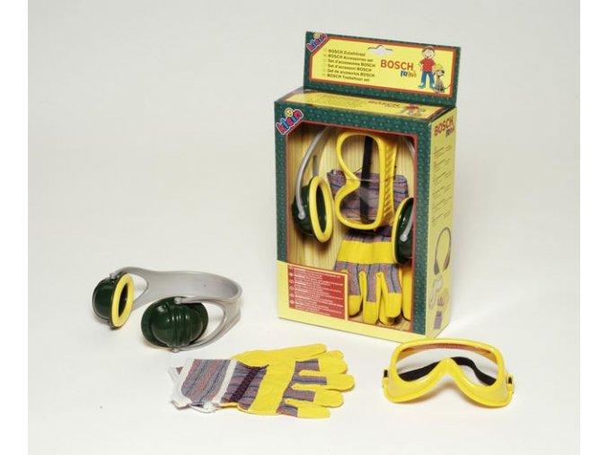 Bosch set - ochranné pomůcky dětské