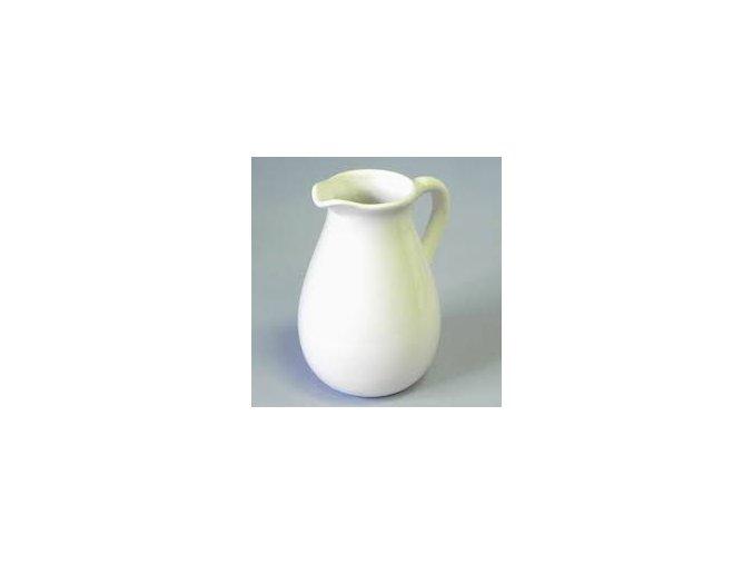 dzban keramika 14x12,4x185cm bily