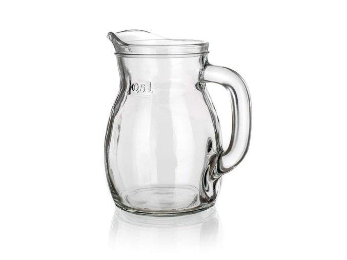 Džbán sklo 0,5l BISTROT