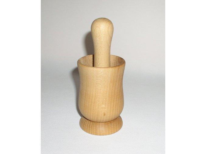 Hmoždíř dřevěný vysoký