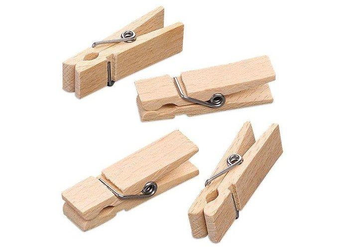 Kolíčky střední 45x7mm 20ks