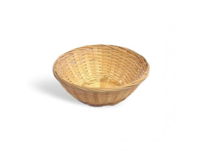 Košík bambus 19cm 2