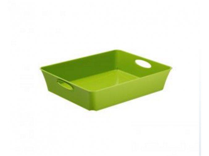 Košík plný Rotho 26,4x21,2x6cm zelená