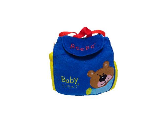 Plyšový batůžek s BeeBo Baby Signs