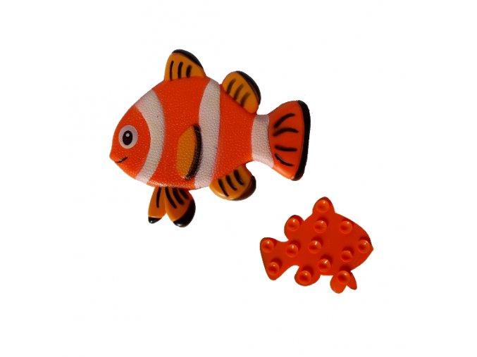 Podložka s přísavkami ryba
